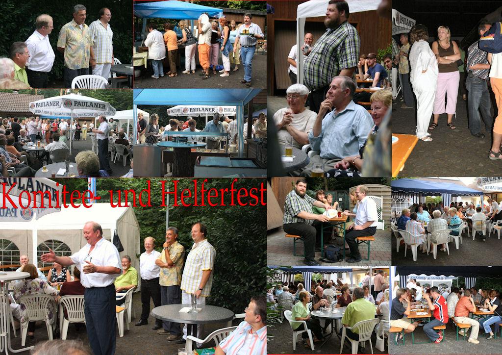 2006 09 MGV Komitee und Helferfest (Montage)