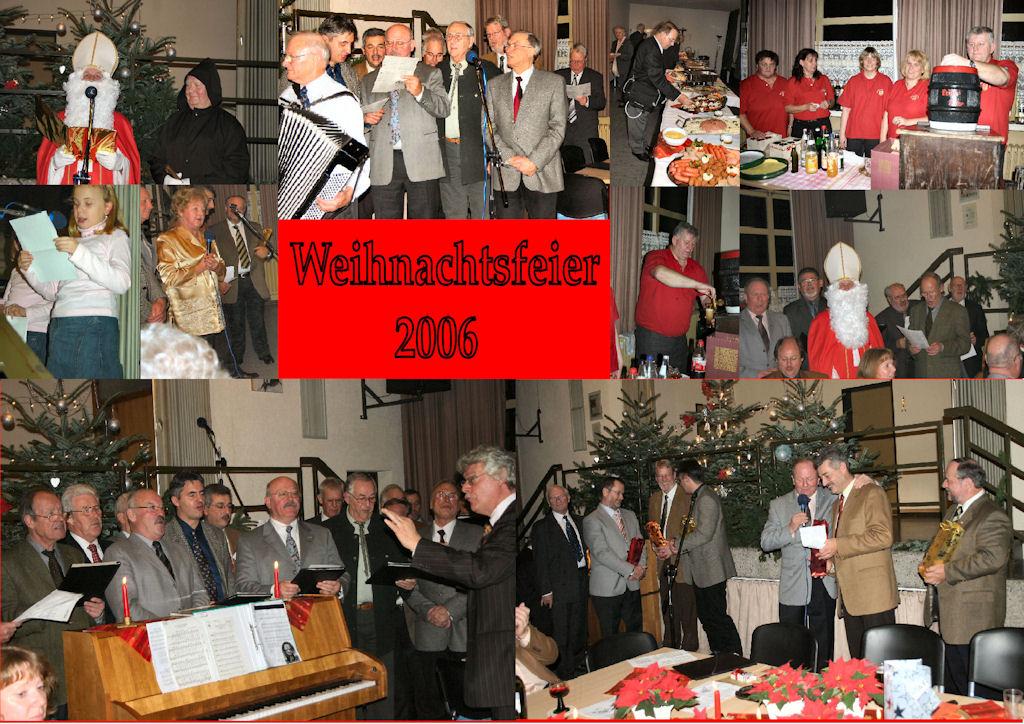 2006 12 MGV Weihnachtsfeier (Montage)