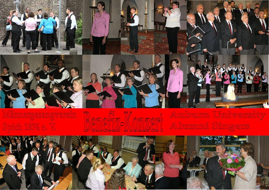 2007 06 MGV Benefizkonzert Alumni Singers (Montage)