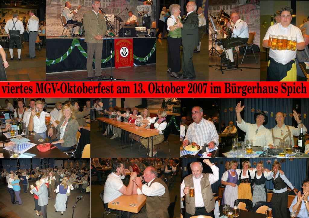2007 10 MGV Oktoberfest (Montage)
