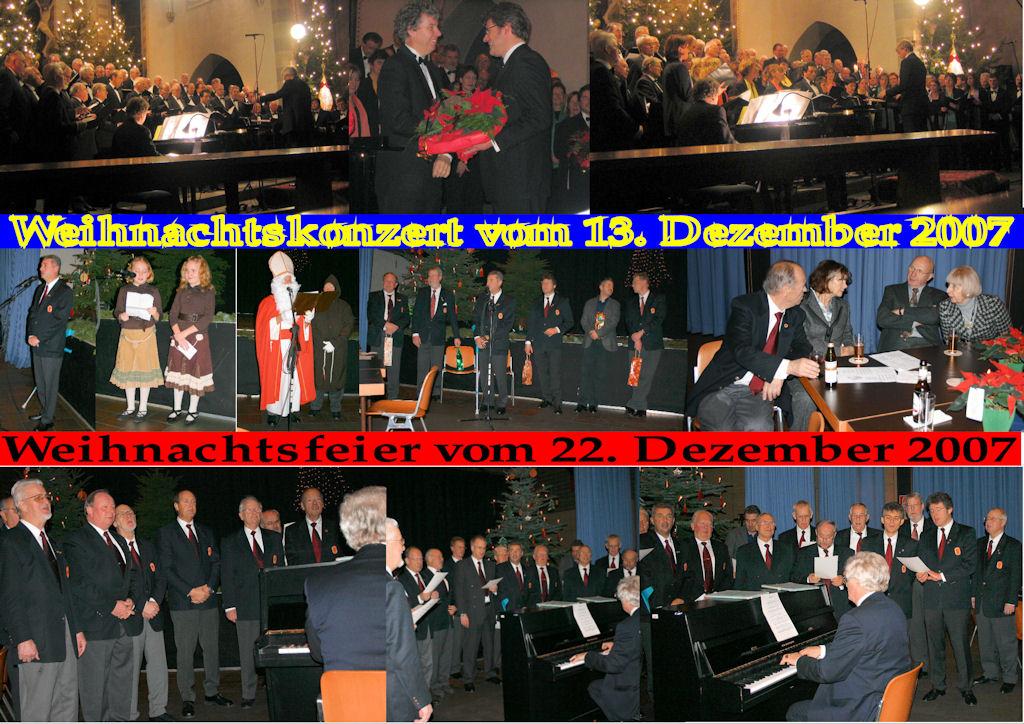 2007 12 MGV Weihnachtskonzert (Montage)