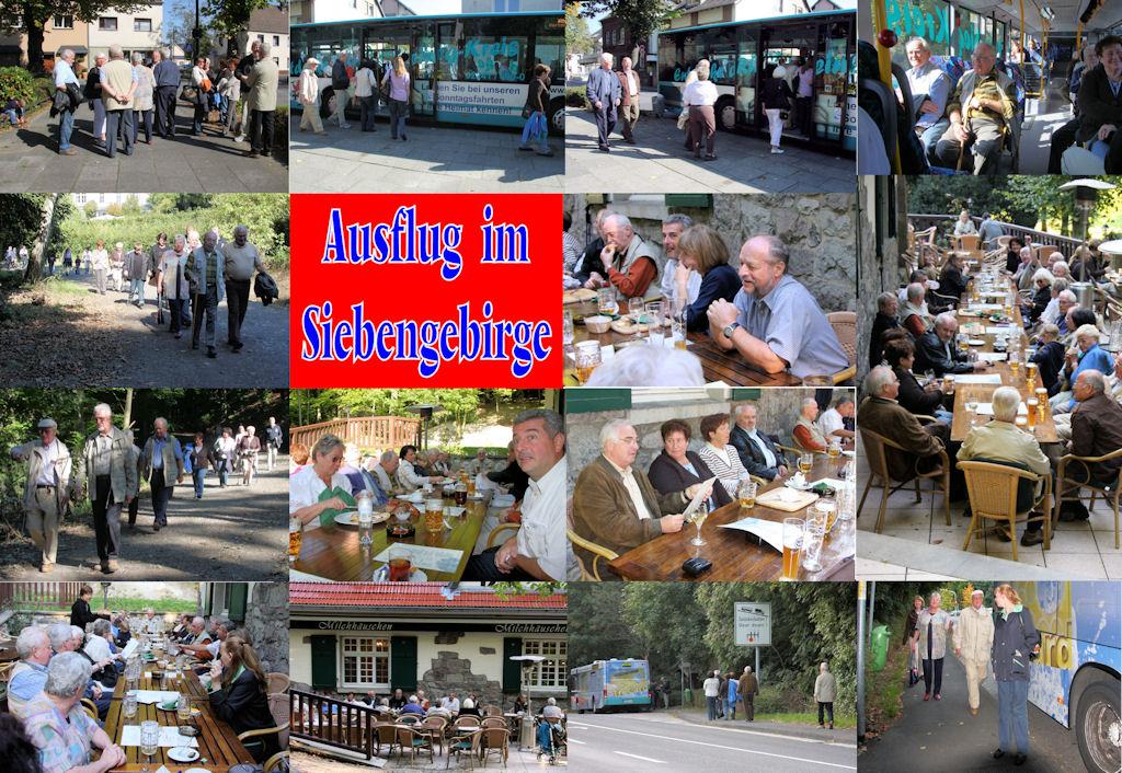2008 09 MGV Ausflug im Siebengebirge (Montage)