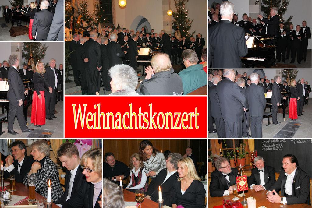 2008 12 MGV Weihnachtskonzert(Montage)