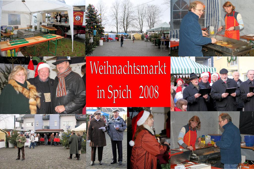 2008 12 MGV Weihnachtsmarkt (Montage)