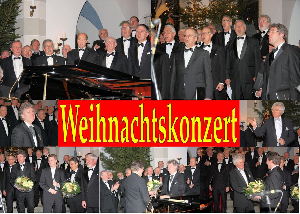 2009.12.17 MGV Weihnachtskonzert (Montage)