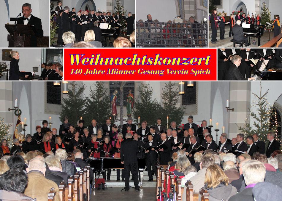 2014.12.18 MGV Weihnachtskonzert (Montage)