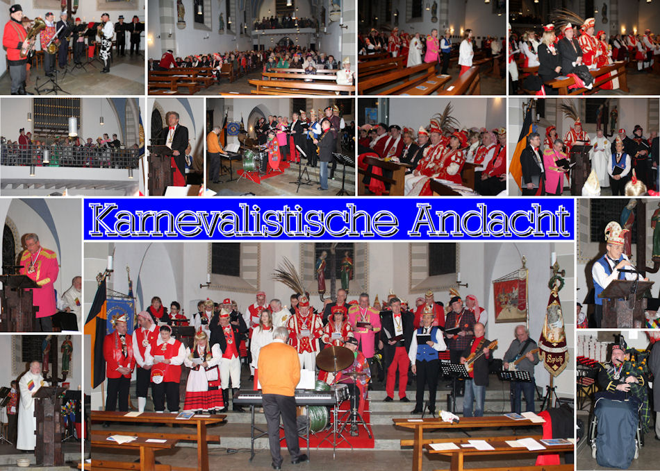 2015.02.01 MGV Karnevalistische Andacht (Montage)