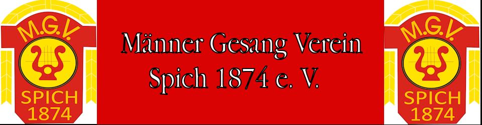 Männer Gesang Verein Spich 1874 e.V.